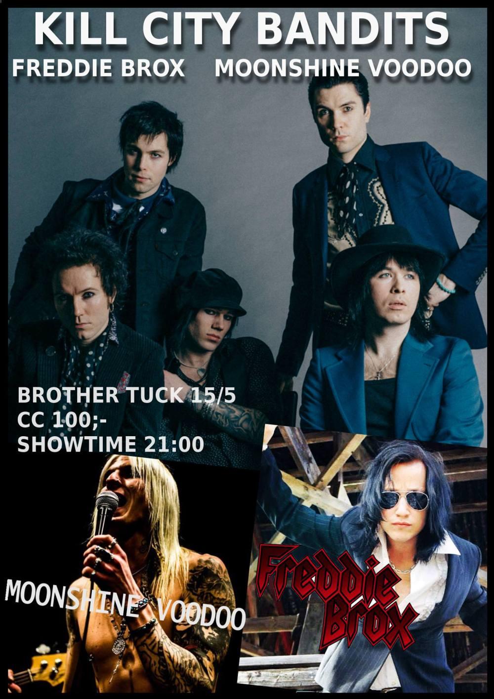 KCB, Moonshine, Freddie Stockholm